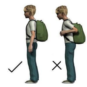mochila posture