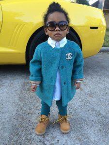 style-swag-princess-dope-little-chanel-chaneltshirt-peacoat-naturalhair-kidsfashion-timberlands-boots-pants-blouse-blue-lightblue-kidsswag-st