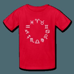 Zodiac-signs-Kids--Shirts
