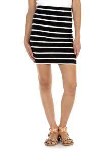 double-layer-mini-skirt