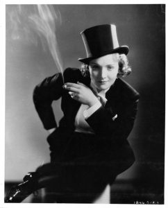 Marlene Dietrich, 1930. (Photo by Getty Images)