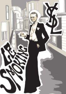 ysl- le-smoking