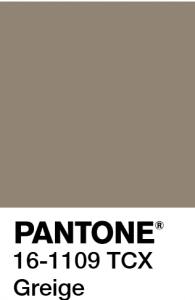 PANTONE GREIGE