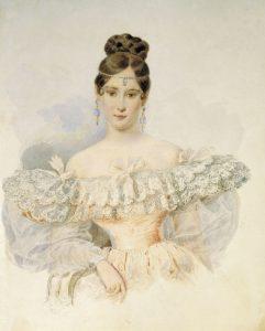 1831_Alexander_Brulloff_-_Natalia_Pushkina