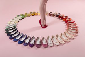 arc en ciel ballerines