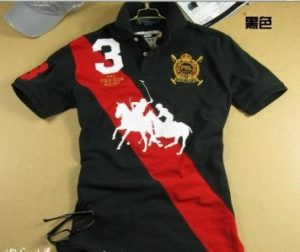 polo-t-shirt-big-double-horse-16246-in-black-for-men