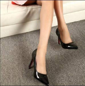 Sapatos-Neon-cor-sapatos-de-festa-de-couro-dedo-apontado-bombas-de-salto-fino