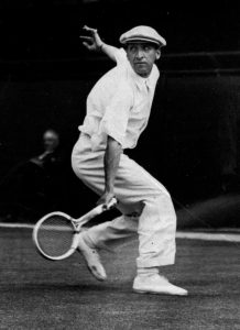 French tennis player Rene Lacoste, shown in this undated file photo, died at the age of 92 in a hospital at his hometown of St. Jean de Luz, southwestern France, according to his daughter, Sunday, Oct. 13, 1996. Lacoste, who dominated the tennis world in the 1920's and 1930's and created the famed Lacoste sport shirt with the crocodile emblem, won seven major singles titles in his career: Wimbledon twice, the U.S. open twice and the French Open three times. (AP Photo)